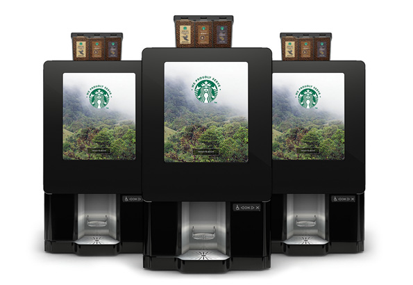 Vending machines in  Montgomery & Auburn bean to cup brewers