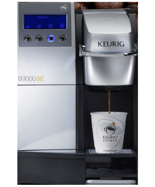 Vending machines and capsule coffee brewers in Montgomery River Region and Auburn